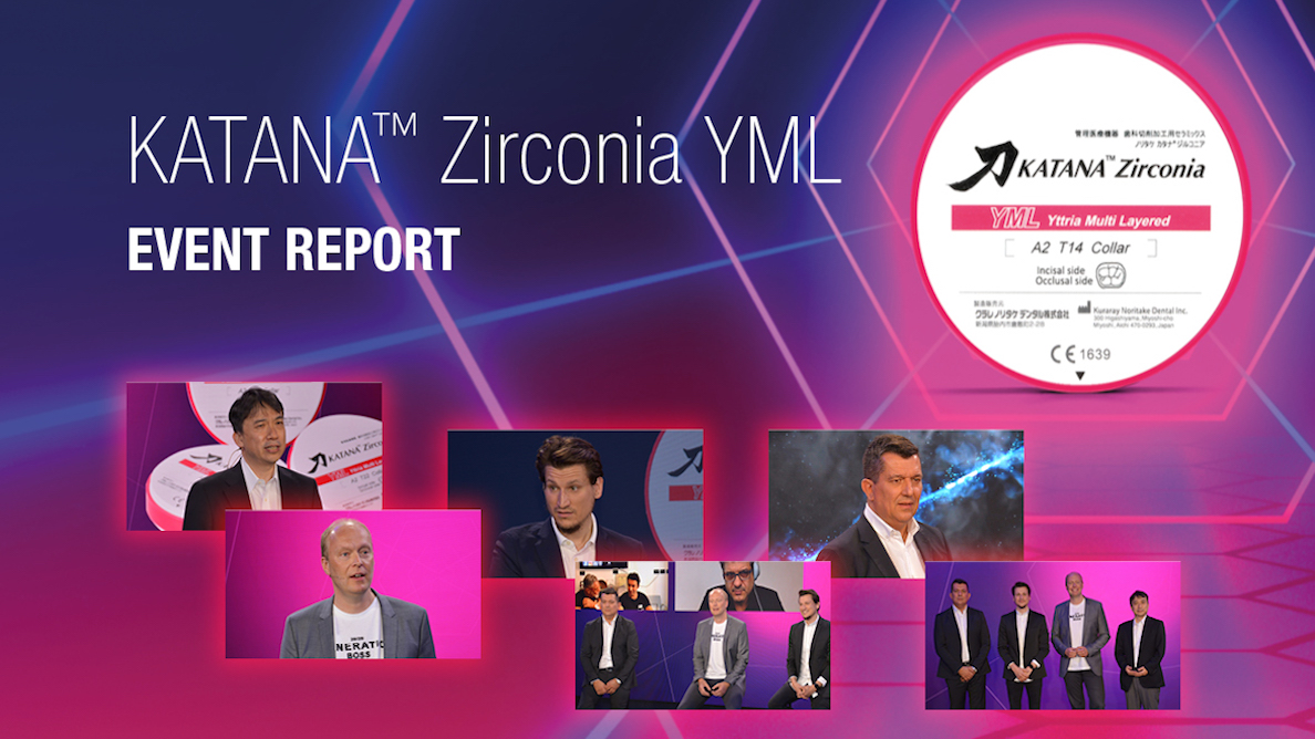 Virtual kick-off symposium: A big welcome to KATANA Zirconia YML!